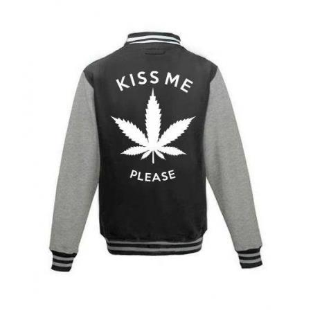 Bluza baseball KISS ME