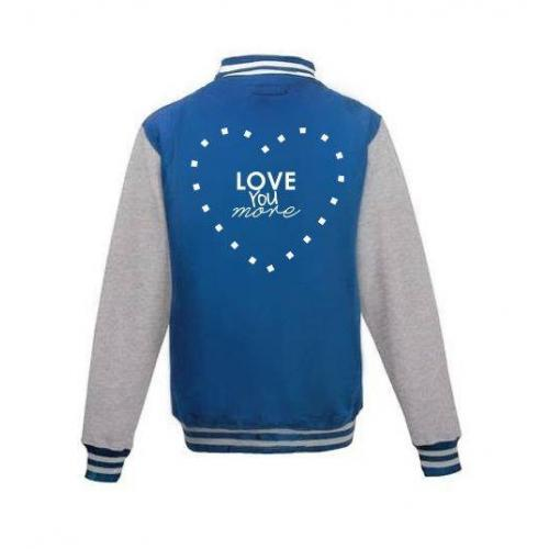 Bluza baseball LOVE YOU MORE