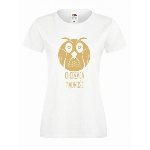T-shirt lady CHODZĄCA MĄDROŚĆ