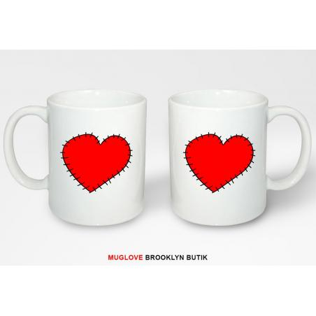 Kubek z nadrukiem HEART 2