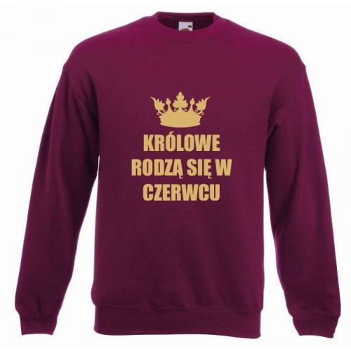 bluza oversize KRÓLOWE CZERWIEC