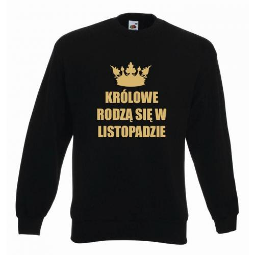 bluza oversize KRÓLOWE LISTOPAD