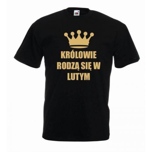 T-shirt oversize KRÓLOWIE BLACK