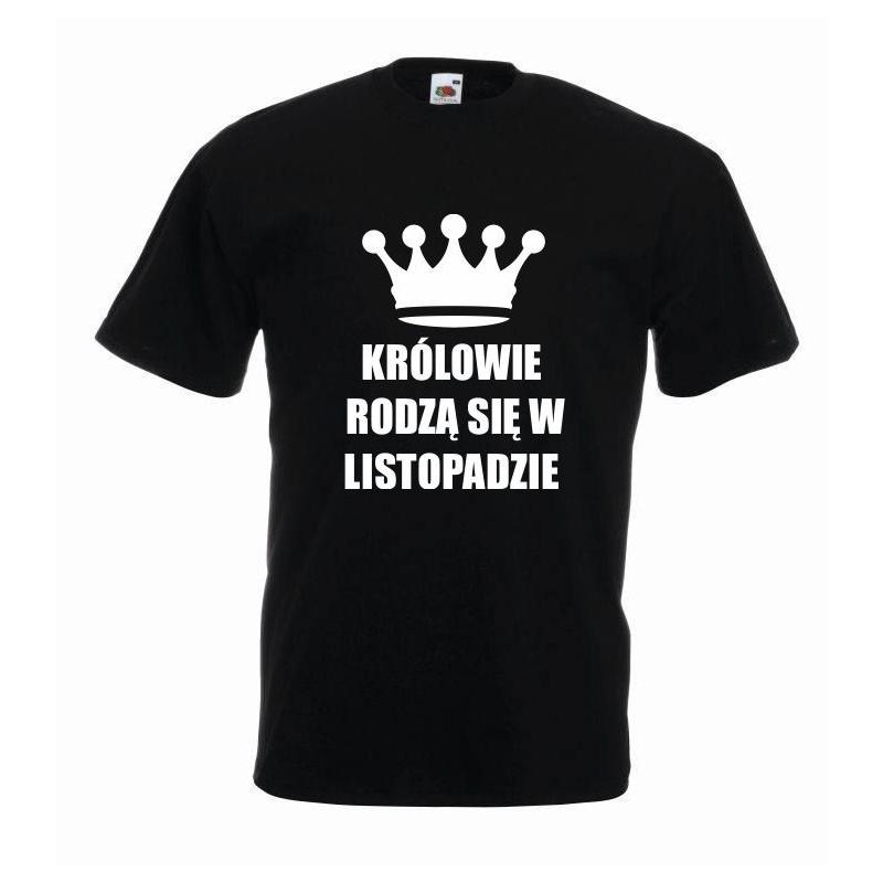 T-shirt oversize KRÓLOWIE LISTOPAD