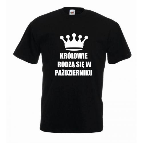 T-shirt oversize KRÓLOWIE PAŹDZIERNIK