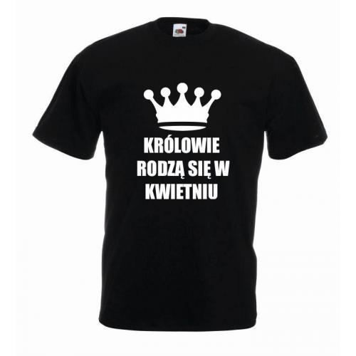 T-shirt oversize KRÓLOWIE KWIECIEŃ