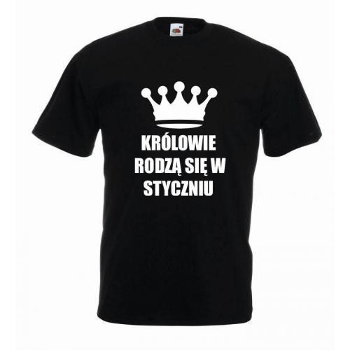 T-shirt oversize KRÓLOWIE STYCZEŃ