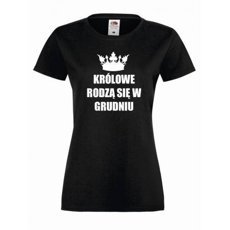 T-shirt lady KRÓLOWE GRUDZIEŃ