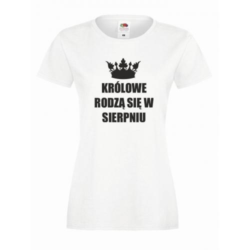 T-shirt lady KRÓLOWE SIERPIEŃ