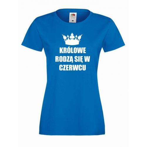 T-shirt lady KRÓLOWE CZERWIEC