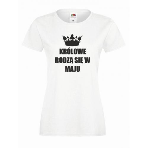 T-shirt lady KRÓLOWE MAJ