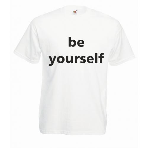 T-shirt oversize BE YOURSELF
