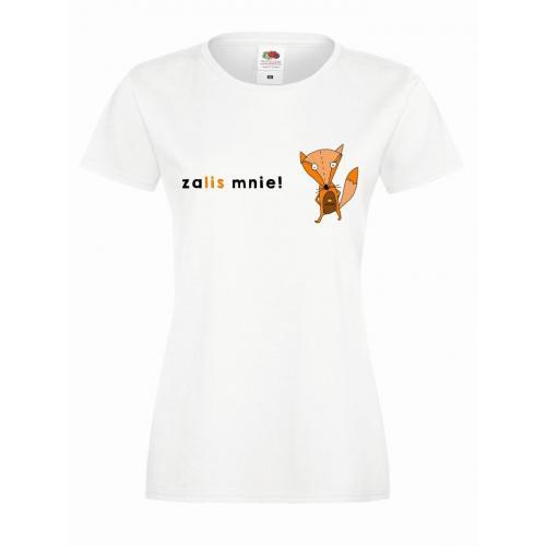T-shirt lady slim DTG heart