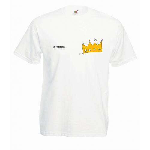 T-shirt oversize DTG QUEEN&KING