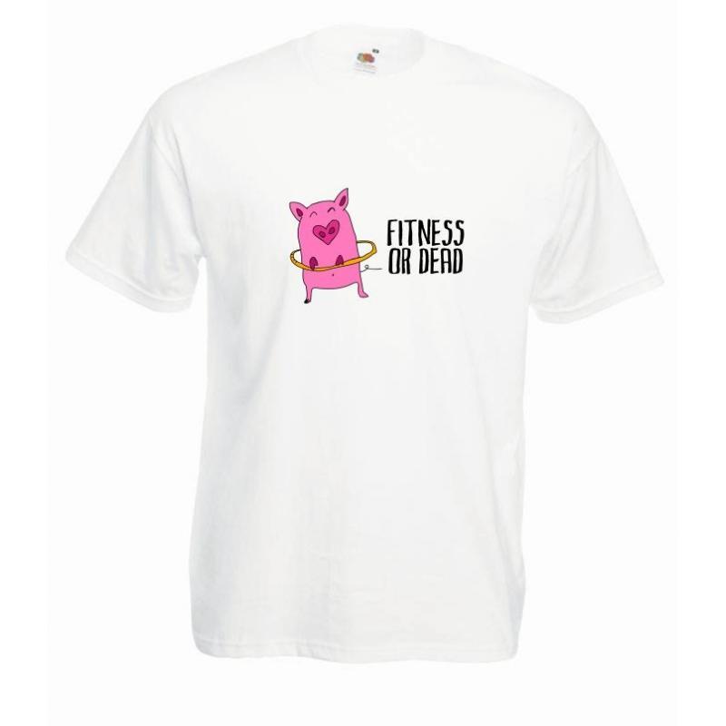 T-shirt oversize DTG FITNESS OR DEAD