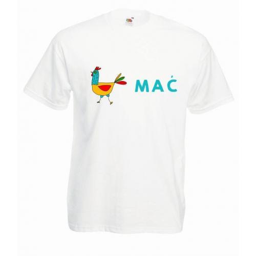 T-shirt oversize DTG MAĆ