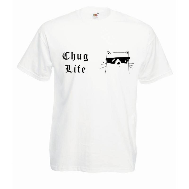 T-shirt oversize DTG THUG LIFE