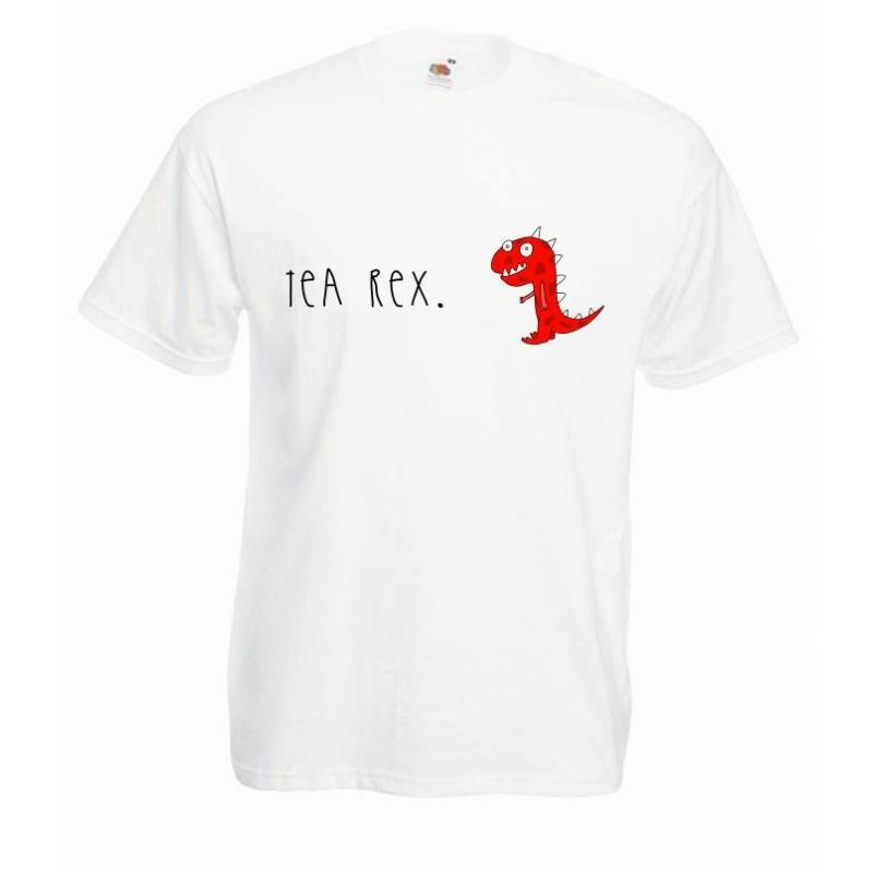 T-shirt oversize DTG TEA REX