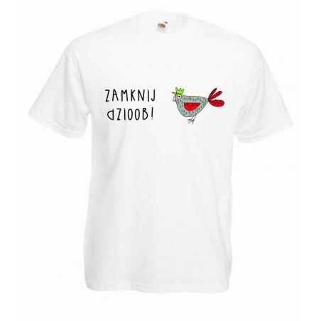 T-shirt oversize DTG ZAMKNIJ DZIOOB