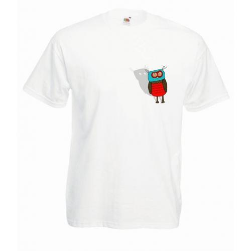 T-shirt oversize DTG OWL