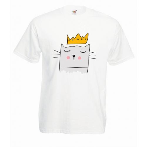 T-shirt oversize DTG KING CAT