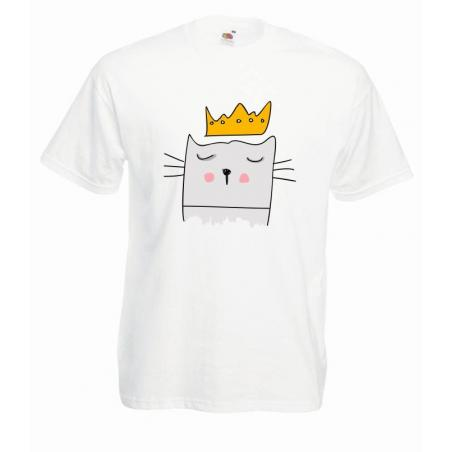 T-shirt oversize DTG KING CAT