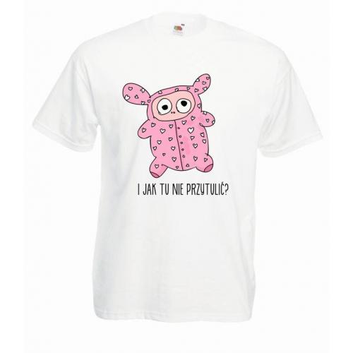 T-shirt oversize DTG PRZYTULIĆ