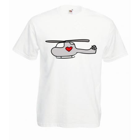 T-shirt oversize DTG LOVECOPTER