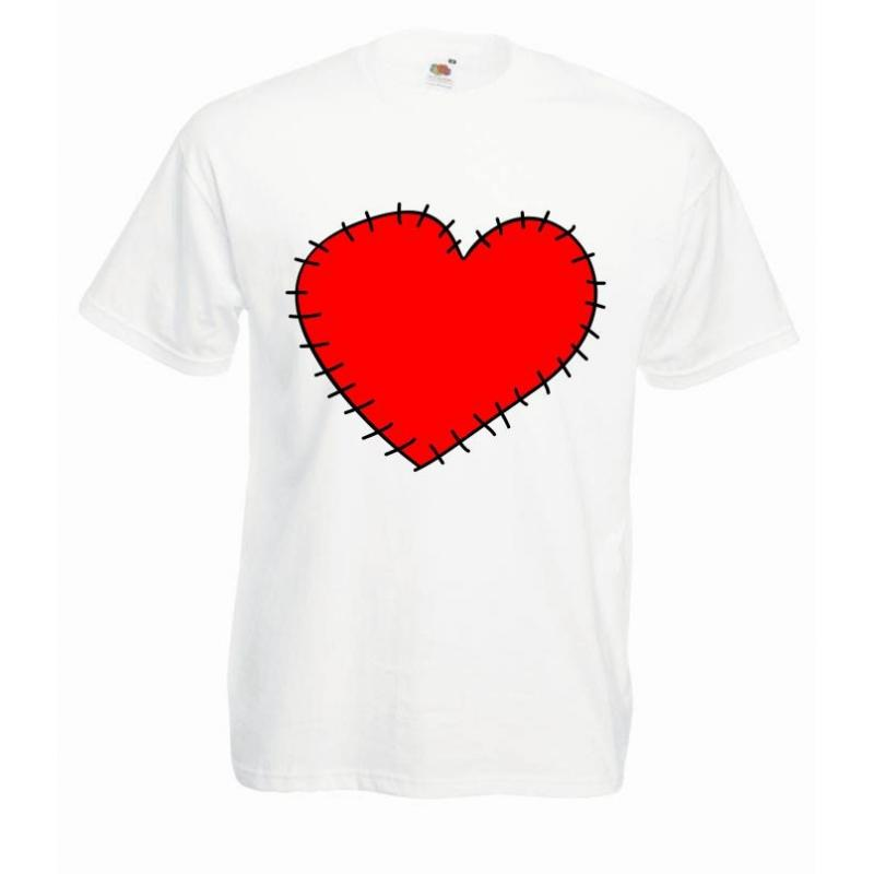 T-shirt oversize DTG HEART