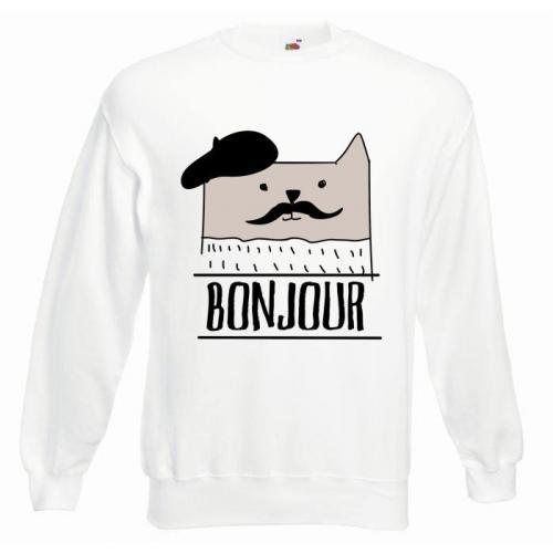 Bluza oversize DTG BONJOUR