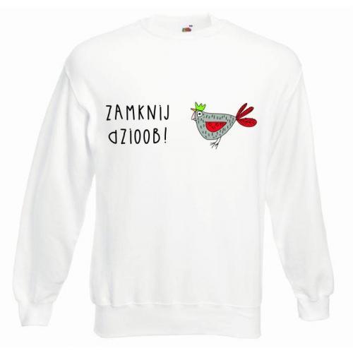 Bluza oversize DTG ZAMKNIJ DZIOOB