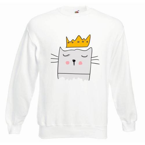 Bluza oversize DTG KING CAT