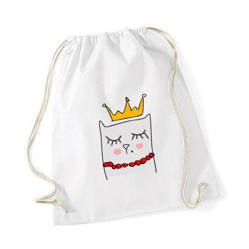 plecak worek DTG QUEEN CAT