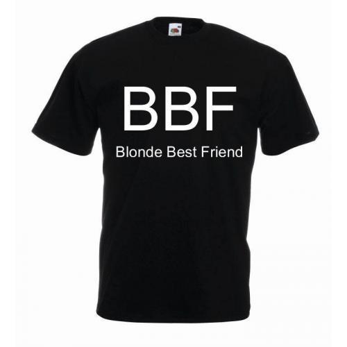 T-shirt oversize BBF BLONDE