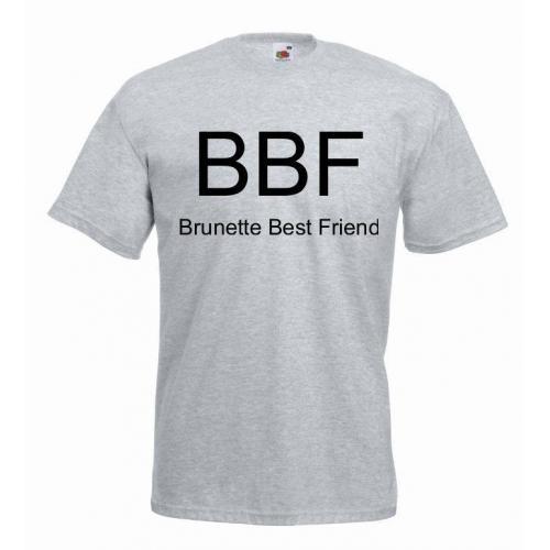 T-shirt oversize BBF BRUNETTE