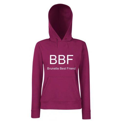Bluza lady z kapturem BBF BRUNETTE