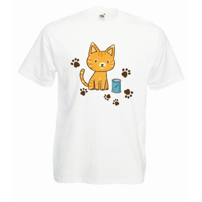 T-shirt oversize DTG CAT ART