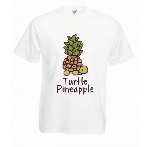 T-shirt oversize DTG TURTLE PINEAPPLE