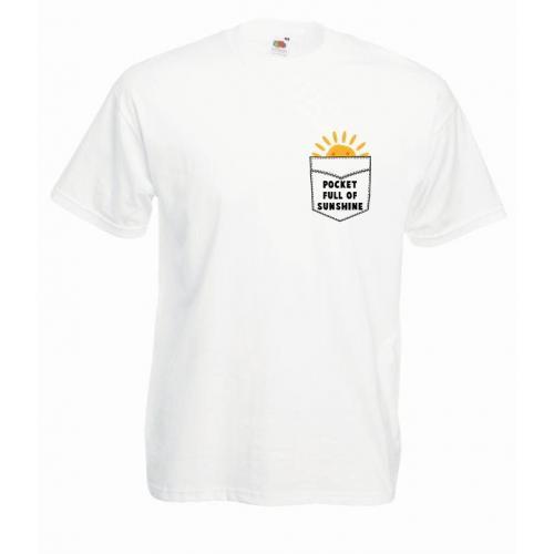 T-shirt oversize DTG SUNSHINE