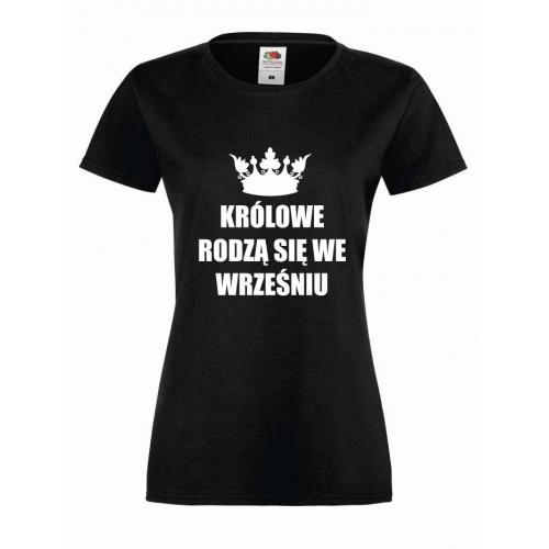 T-shirt lady KRÓLOWE WRZESIEŃ