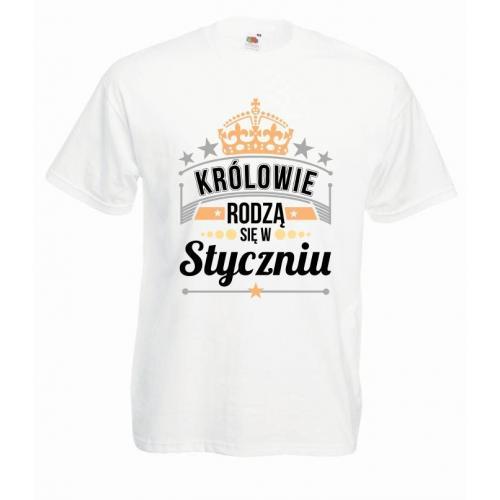 T-shirt oversize DTG KRÓLOWIE STYCZEŃ