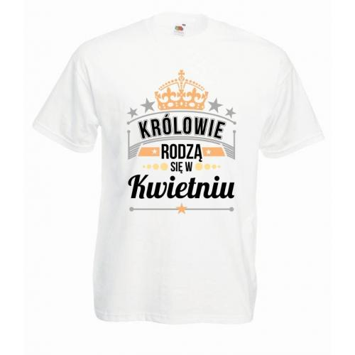 T-shirt oversize DTG KRÓLOWIE KWIECIEŃ