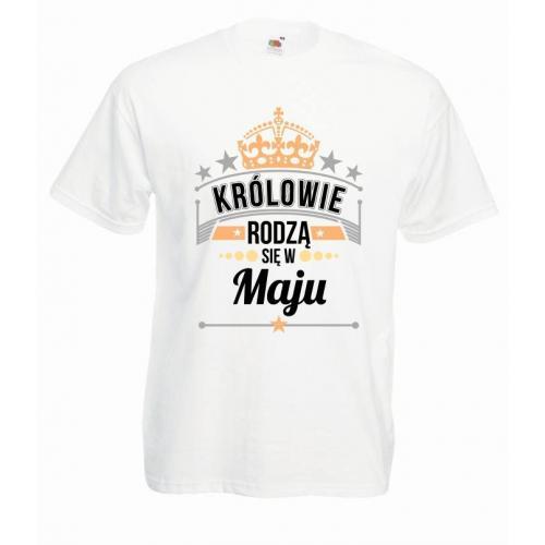 T-shirt oversize DTG KRÓLOWIE MAJ