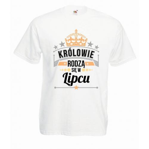 T-shirt oversize DTG KRÓLOWIE LIPIEC