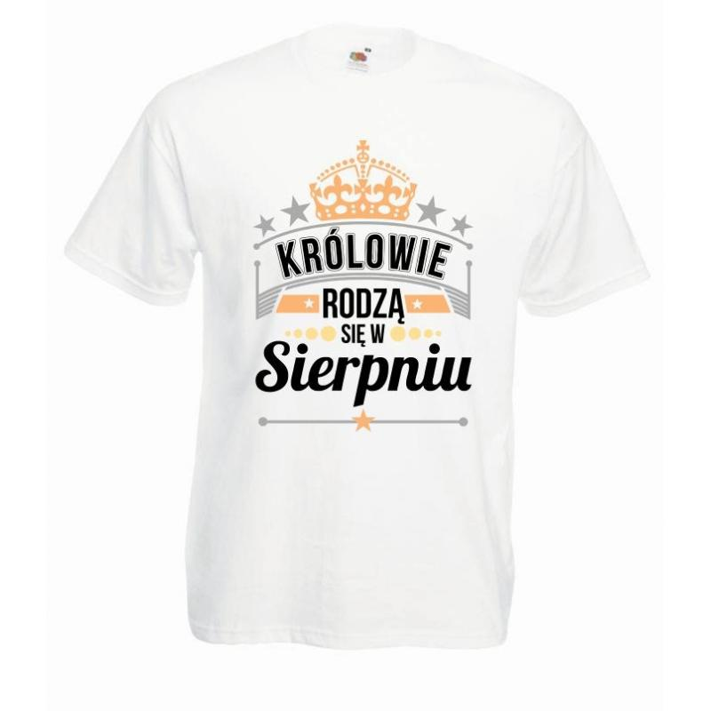 T-shirt oversize DTG KRÓLOWIE SIERPIEŃ