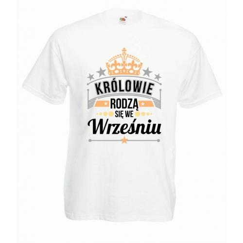 T-shirt oversize DTG KRÓLOWIE WRZESIEŃ
