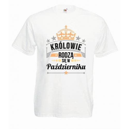 T-shirt oversize DTG KRÓLOWIE PAŹDZIERNIK
