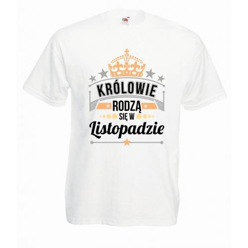 T-shirt oversize DTG KRÓLOWIE LISTOPAD