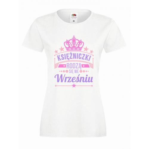 T-shirt lady slim DTG KSIĘŻNICZKI WRZESIEŃ