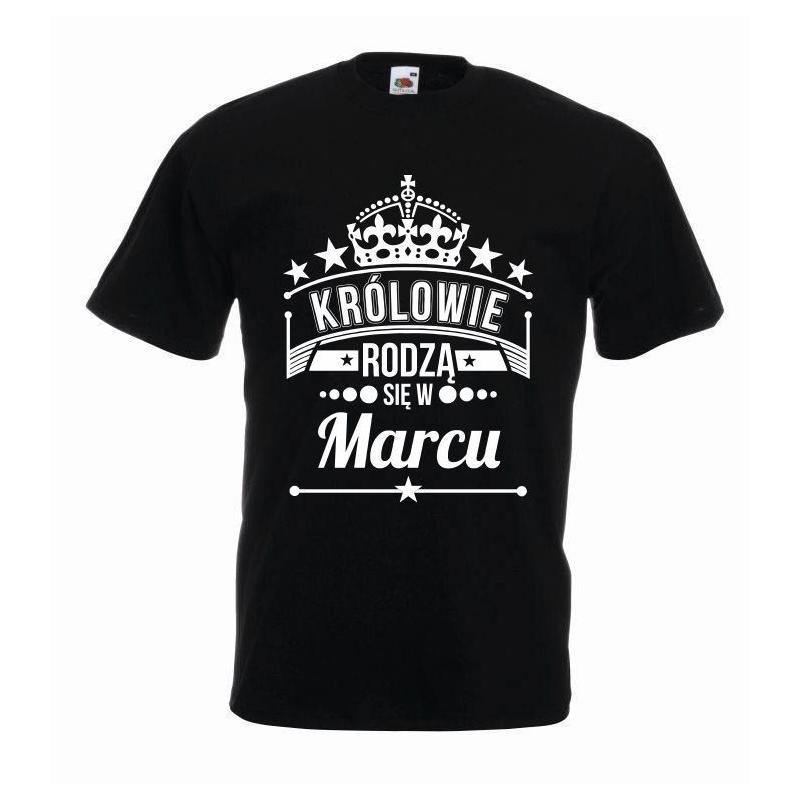 T-shirt oversize KRÓLOWIE MARZEC 2